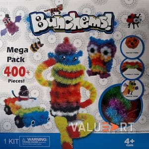 Конструктор-липучка Банчемс - Bunchems Mega Pack 400+